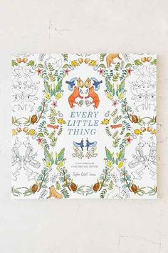 Every Little Thing A Flat Vernacular Coloring Book By Payton Cosell Turner Stationery ItemsUrbanoutfitters ComAdult