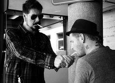Corey Taylor & Jim Root of Slipknot