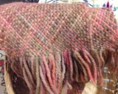 Hand-woven scarf by KATHERINESetsySHOP on Etsy