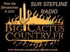 Vous aimez la musique country... Cette émission vous présente les hits country de demain, les news avec le partenariat de Big Cactus Country.fr. Cette émission est diffusée tous les dimanche matin à partir de 11h sur votre webradio du vignoble nantais....