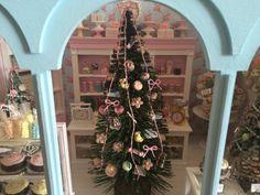 9 Tall SWEETS Decorated CHRISTMAS TREE  von BakingInMiniature