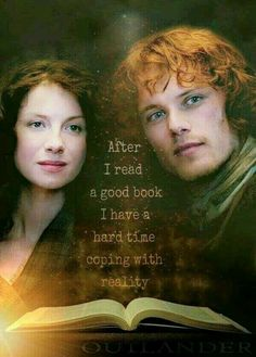 Still have a hang over after the outlander book series!