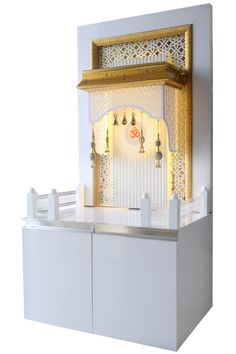 DEsigner Mandir for Home and Offices by The Mandir Store