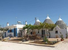 The trullo with adjacent kitchen