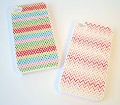 DIY Kit iPhone 5 Needlepoint Case by notsomodernmillie on Etsy