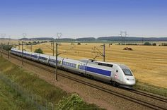 TGV high speed train, Geneva to Paris