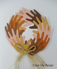 """Color Me Kinder: """"We're all in this Together"""" Peace Wreath"""