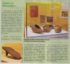 Delicias Comida Prehispanica: PRENSA