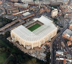 St. James' Park. Home of Newcastle Utd FC