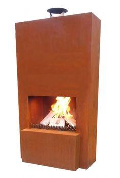 Tuinhaard Pinacate Corten is een exclusieve terrashaard van GardenMaxX. De strak vormgegeven buitenhaard is gemaakt van 2 mm dik staal en isvoorzien van een geoxideerde roestige afwerking. De corrosielaag voorkomt verdere aantasting door roest. De GardenmaxX XL design schouw heeft een hoogte van 152cm. Geniet tot in de late avonduren met deze schitterende tuinhaard. De vuurkorf is standaard uitgerust met een houtblokrooster, een aslade en wieltjes zo is de buitenhaard eenvoudig te…