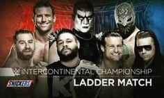 Zack Ryder vs stardust vs sin cara vs sami zayn vs dolph ziggler vs the miz vs Kevin Owens