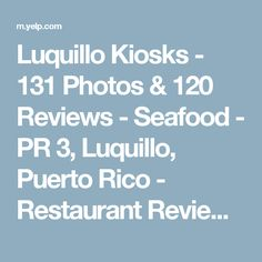 Luquillo Kiosks - 131 Photos & 120 Reviews - Seafood - PR 3, Luquillo, Puerto Rico - Restaurant Reviews - Yelp