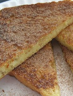 Vegetarian-  Low FODMAP Recipe and Gluten Free Recipe - Cinnamon toast with Maple syrup   http://www.ibscuro.com/cinammon_toast_maple_syrup.html