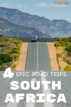 4 of the best road trip routes in South Africa including itineraries for the Garden Route, the Midlands, and the East and West Coast. Travel tips for your trip to Africa. Places To Travel, Places To Visit, Travel Destinations, Wanderlust, Road Trip Hacks, Roadtrip, Africa Travel, Nelson Mandela, Travel Around The World