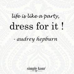 Truely said! Fashion inspirations! #style #trends #audreyhepburn #fashion #trendicons