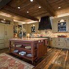 Hallmark Cabin - traditional - kitchen - austin - Bulhon Design Associates