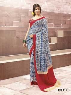 Indian Traditional Ethnic Bhagalpuri Party Wear Exclusive Designer Saree Sari