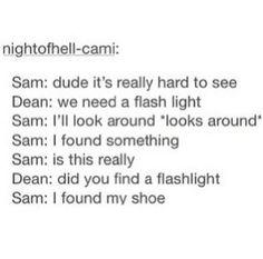 dean, funny, sam, spn, supernatural, tumblr, winchester