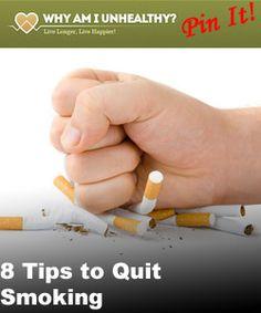 8 Tips to Quit Smoking