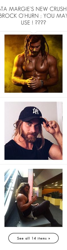 """BTA MARGIE'S NEW CRUSH ; BROCK O'HURN ; YOU MAY USE ! ♥♥♥♥"" by margiexbixdominicana ❤ liked on Polyvore"