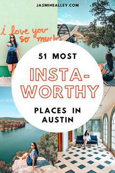 Heading to Austin, Texas? If youre looking for things to do, check out these 51 most Instagrammable places! From South Congress to 6th Street, and everything in between, travel Austin like a local and get all of the best shots! These are my favorite photo spots in Austin and you wont want to miss out on them! #austin #texas #instagrammableplaces #austintx #texastravel