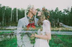 Autumn Inspired Bohemian Styled Bridal Shoot // Flagstaff, Arizona » sarah waggoner photography // arizona wedding photographer