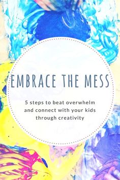 22f768eb76 5 Tips for Connecting With Kids Through Art...Without the Overwhelm