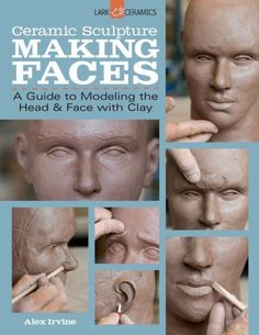A guide to modeling the head and face with clay.