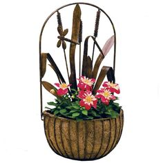 Deer Park WB142 Dragonfly Wall Planter with Cocoa Moss Liner * Insider's special review you can't miss. Read more  : Gardening DIY