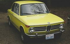The BMW 2002. My dream car is simple and plain.
