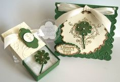 Splitcoaststampers FOOGallery - Lucky Four Leaf Clover Pin Gift Set