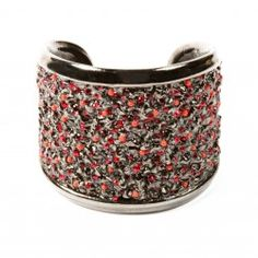 Clara Kasavina Fiona Cuff with red crystals