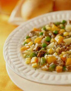 Descubre lo fácil que es preparar una Carbonada, en 30 minutos tendrás un exquisito plato para 6 personas. ¡Comparte en familia!