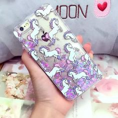 Bing Glitter Liquid Quicksand Unicorn Clear Case Cover for iPhone 6/6S/6S Plus in Cell Phones & Accessories, Cell Phone Accessories, Cases, Covers & Skins | eBay
