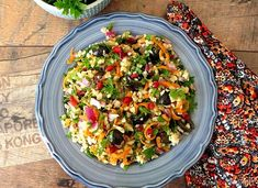 Kung Pao Chicken, Pasta Salad, Salads, Lunch, Ethnic Recipes, Food, Bulgur, Crab Pasta Salad, Eat Lunch