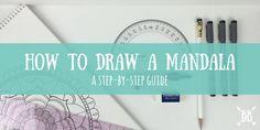 Apprendre à dessiner un mandala avec ce guide étape par étape!