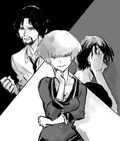 ZNT: Five, Nine and The Detective dude (fan art)
