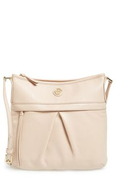 Free shipping and returns on Tory Burch Leather Swingpack at Nordstrom.com. With its sleek and pleated silhouette, slim shoulder strap and pebbled-leather construction, this swingpack from Tory Burch is sure to become a go-to favorite in your collection. Perfect for around-town errands or sightseeing in a new town, this crossbody bag features a deep exterior zip pocket for keeping necessary items close at hand, as well plenty of interior pockets—making on-the-go organizing a breeze.