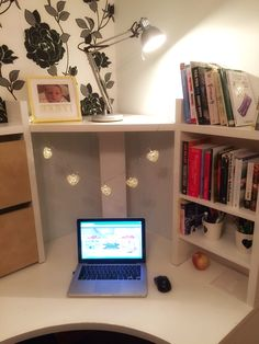 When I was young, I dreamed of owning an antique writing desk. Antique Writing Desk, Home Office, Corner Desk, Budgeting, Blogging, Space, Create, Building, Furniture