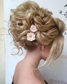 Elstile wedding hairstyles for long hair 27 - Deer Pearl Flowers / http://www.deerpearlflowers.com/wedding-hairstyle-inspiration/elstile-wedding-hairstyles-for-long-hair-27/