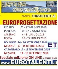 #MASTER  #EUROPROGETTAZIONE