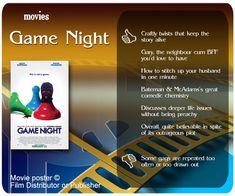 Game Night movie review.