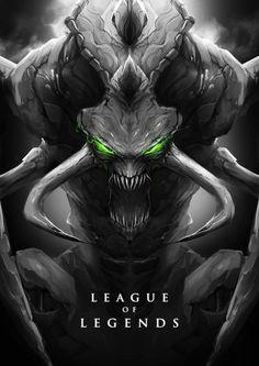 ChoGath  League Of Legends Fan Art 2: