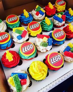 Lego cakes by my friend #baking #cooking #food #recipes #cake #desserts #win #cookies #recipe #cakes #cupcakes
