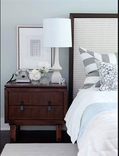 Hang up all black pictures in bed room/living room. Living room use red theme and red throw blanket with black framing and city picture. Bathroom is goodwill stuff. Bedroom is grey and crime themed. Find: black lamp white or cream bed side table black dresser