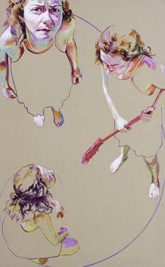 "Saatchi Online Artist: Cristina Troufa; Acrylic, 2012, Painting """"Divine"""""