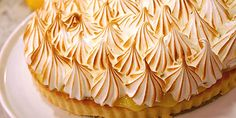 A community based around pastries with recipes,dessert club and anything related to sweets. Tart Recipes, Dessert Recipes, Desserts, Lemon Meringue Tart, Food Network Canada, Lemon Filling, Tart Pan, Shortbread Crust, Food Network Recipes
