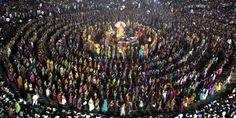 Navrati 2013.  Navrati is the Hindu festival of nine nights dedicated to the glorification of Shakti, the feminine form of the Divine.