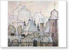 Old Vilnius - Boris Smirnov-Rusetsky