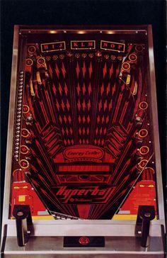 hyperball pinball machine - Google Search